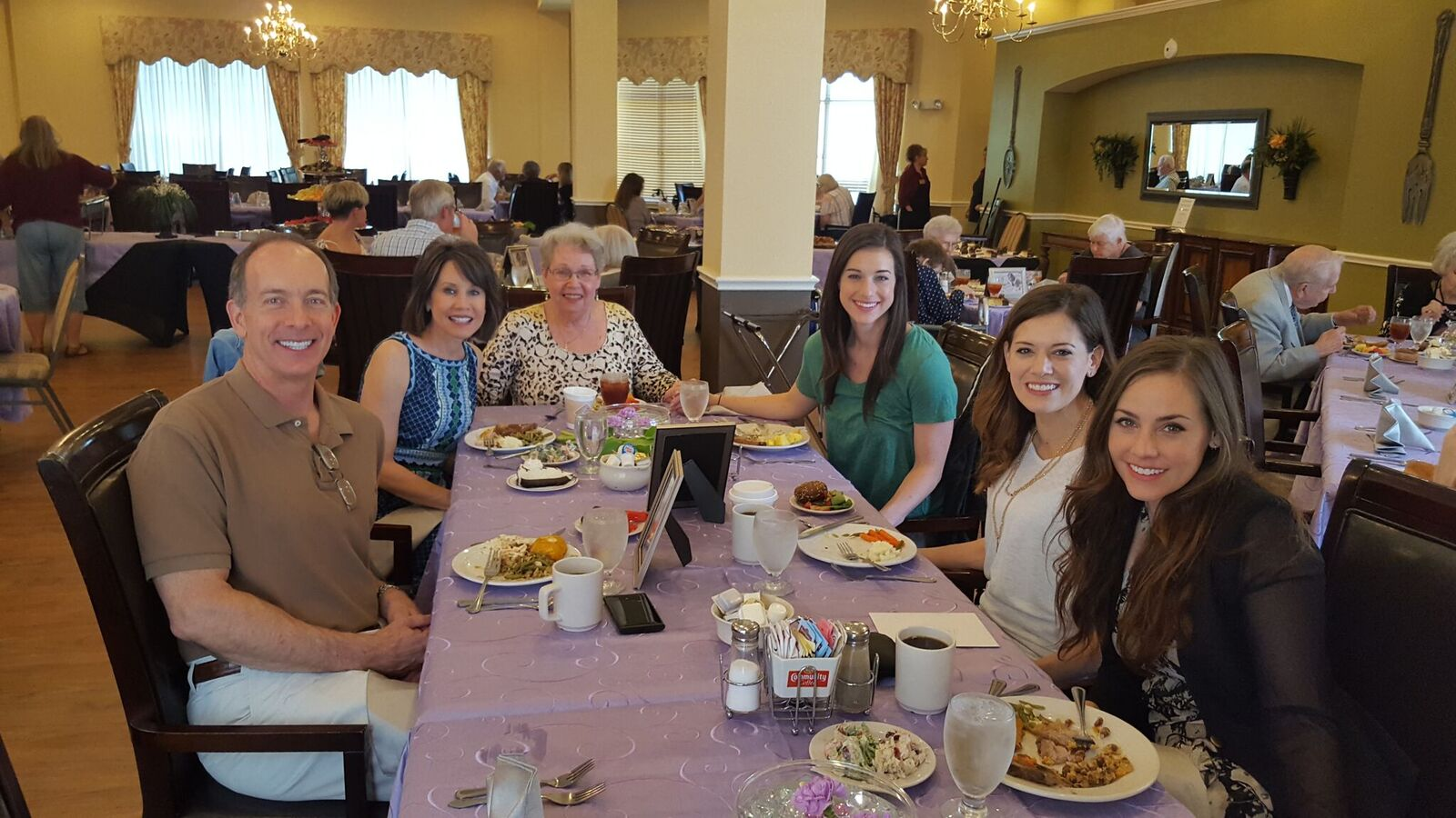 Mother's Day at Mountain Creek Retirement!