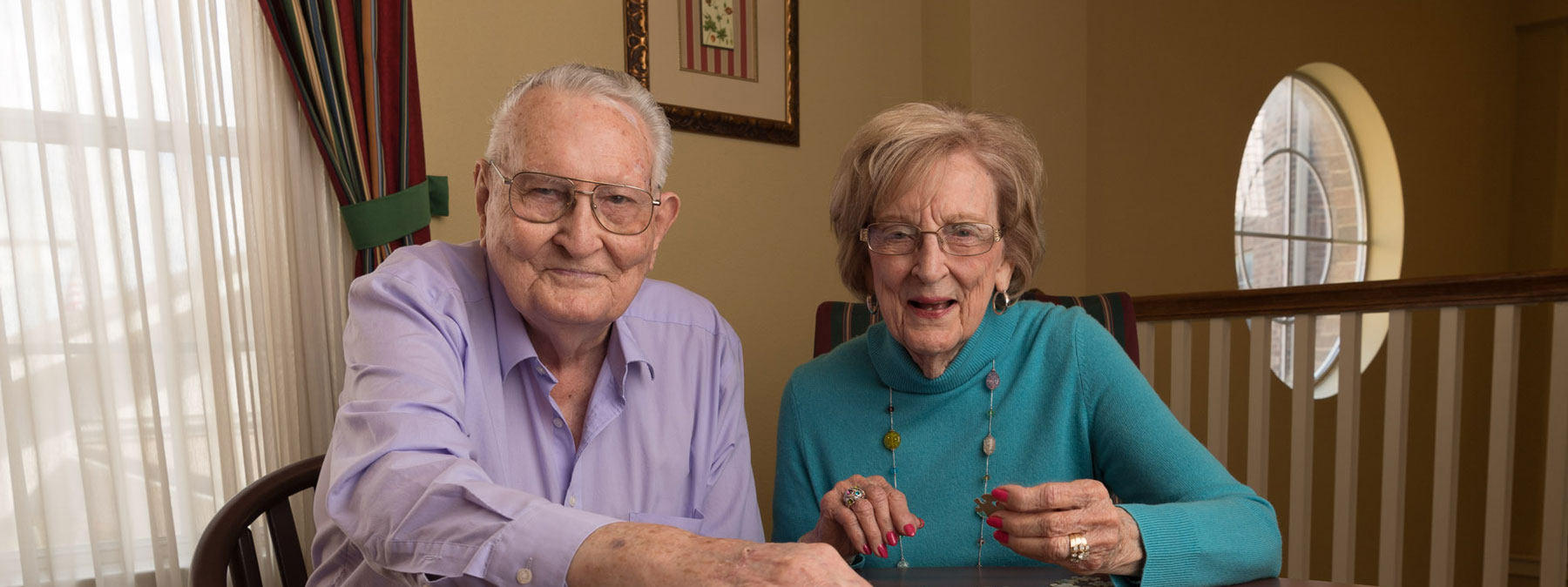 Older Couple at Mt. Creek Retirement Independent Living facility image
